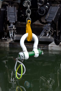 Green Pin ROV Shackle